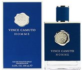 Vince Camuto Homme Eau de Toilette Spray, 3.4 Fluid Ounce