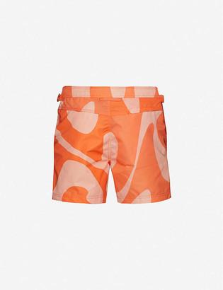 Tom Ford Tailored pattern swim shorts