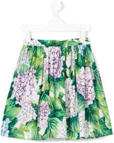 Dolce & Gabbana ortensia print skirt