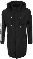 Versace Parka Jacket Black