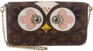 Louis Vuitton Monogram Owl Canvas Felicie