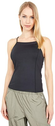 FP Movement Looking Heavenly Tank Top (Black) Women's Clothing