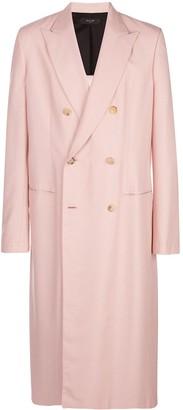 Amiri Duster double-breasted coat