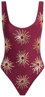 Oceanus Embellished Priscilla Swimsuit
