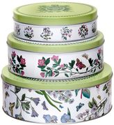 Portmeirion Botanic Garden 3-pc. Nesting Cake Tin Set