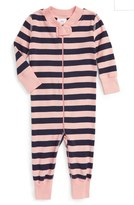 Hanna Andersson Infant Organic Cotton Fitted One-Piece Pajamas