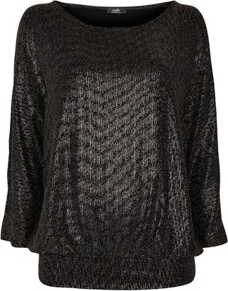 Wallis Bronze Glitter Top
