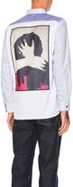 Junya Watanabe Cotton Nylon Stripe Shirt