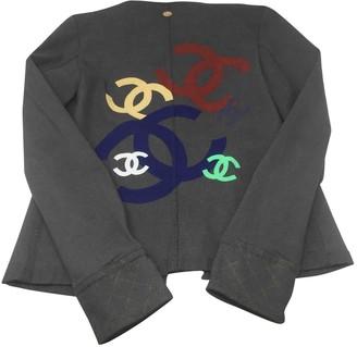 Chanel Grey Denim - Jeans Jackets