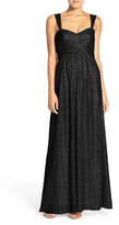 Amsale 'Loire' Sweetheart Neck Sequin Gown