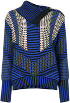 Peter Pilotto asymmetric patterned sweater