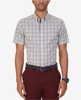 Nautica Men's Non-Iron Tattersall Short-Sleeve Shirt
