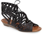 Jessica Simpson Women's Lalaine Ghillie Lace Sandal