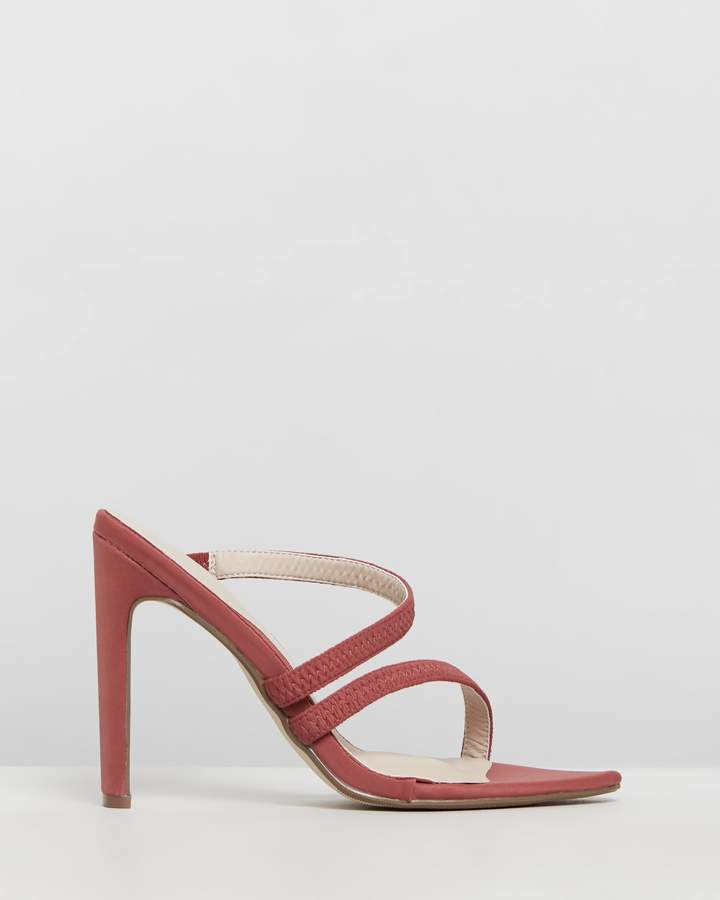 Missguided Asymmetrical Barely There Heels