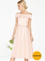 Very Bridesmaid TuTu Bardot Prom Dress