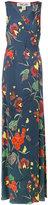 Diane von Furstenberg floral print maxi dress - women - Silk/Spandex/Elastane - 6