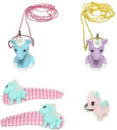 Pop Cutie Pony Ring, Necklaces & Hairclips Set