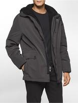 Calvin Klein Sherpa Fleece Hooded Jacket