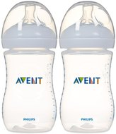 Avent Naturally Natural Bottle - 9 oz - 2 ct