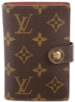 Louis Vuitton Monogram Pocket Agenda