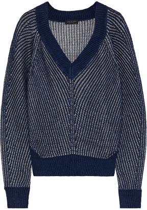 Rag & Bone Jamie Open-knit Linen-blend Sweater