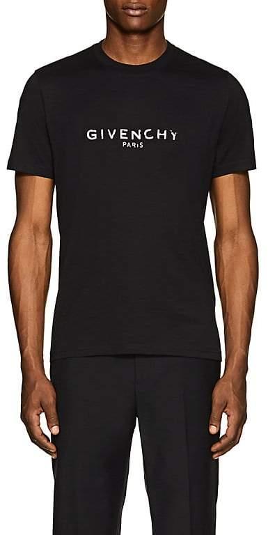 Givenchy Men's Logo-Print Cotton T-Shirt