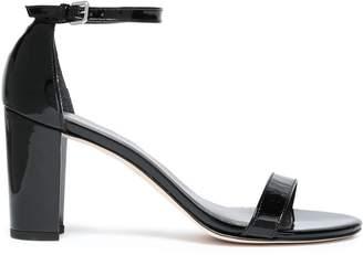 Stuart Weitzman Nearly Nu Patent-leather Sandals
