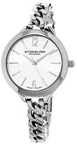 Stuhrling Original Women's 624M.01 Vogue Swiss Quartz Stainless Steel Link Bracelet Watch