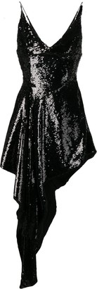 16Arlington Sequined Asymmetric Dress