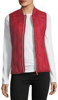 Hunter Zip-Front Quilted Mid-Layer Vest