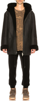 YEEZY Season 3 Hooded Shearling Jacket