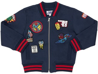 Fabric Flavours Marvel Bomber Jacket W/ Patches