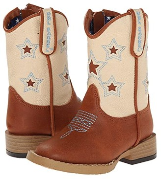 M&F Western Kids Lone Star (Toddler) (Brown) Cowboy Boots