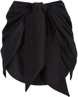 Magda Butrym Yokohama Tie Mini Skirt