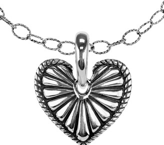 American West Classics Sterling Heart Pendant w/ Chain