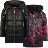 Little Marc Jacobs Little Marc JacobsGirls Reversible Puffer Coat