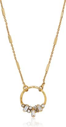 Sorrelli Lisa Oswald Collection Circular Pendant Necklace