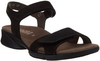 Mephisto Leather Quarter Strap Sandals - Francesca