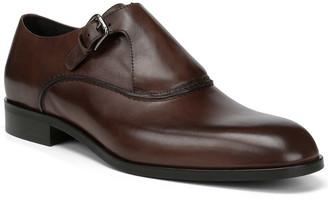 Donald J Pliner Micro Leather Monk Strap Loafer