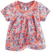 Osh Kosh Toddler Girl Floral Tassel Top