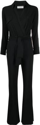 Le Petite Robe Di Chiara Boni V-neck tie-waist jumpsuit
