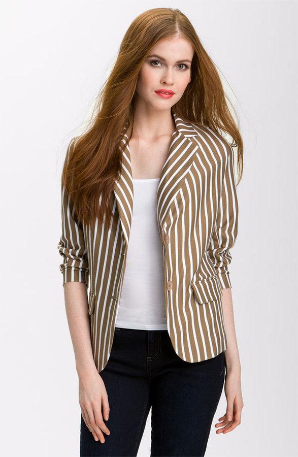 Olivia Moon Stripe Blazer