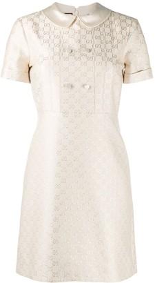 Gucci embroidered GG Supreme mini dress