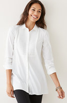 J. Jill Pleated-Front Tunic