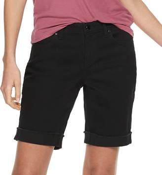 JLO by Jennifer Lopez Women's Rockin Bermuda Jean Shorts