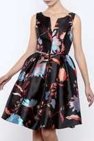 Gracia Sleeveless Floral Dress