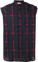Saint Laurent printed shirt - men - Cotton - 40