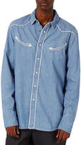 Topman Denim Western Shirt