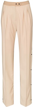 Brøgger Elvie buttoned seam trousers