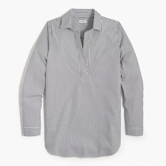 J.Crew High-low popover tunic top